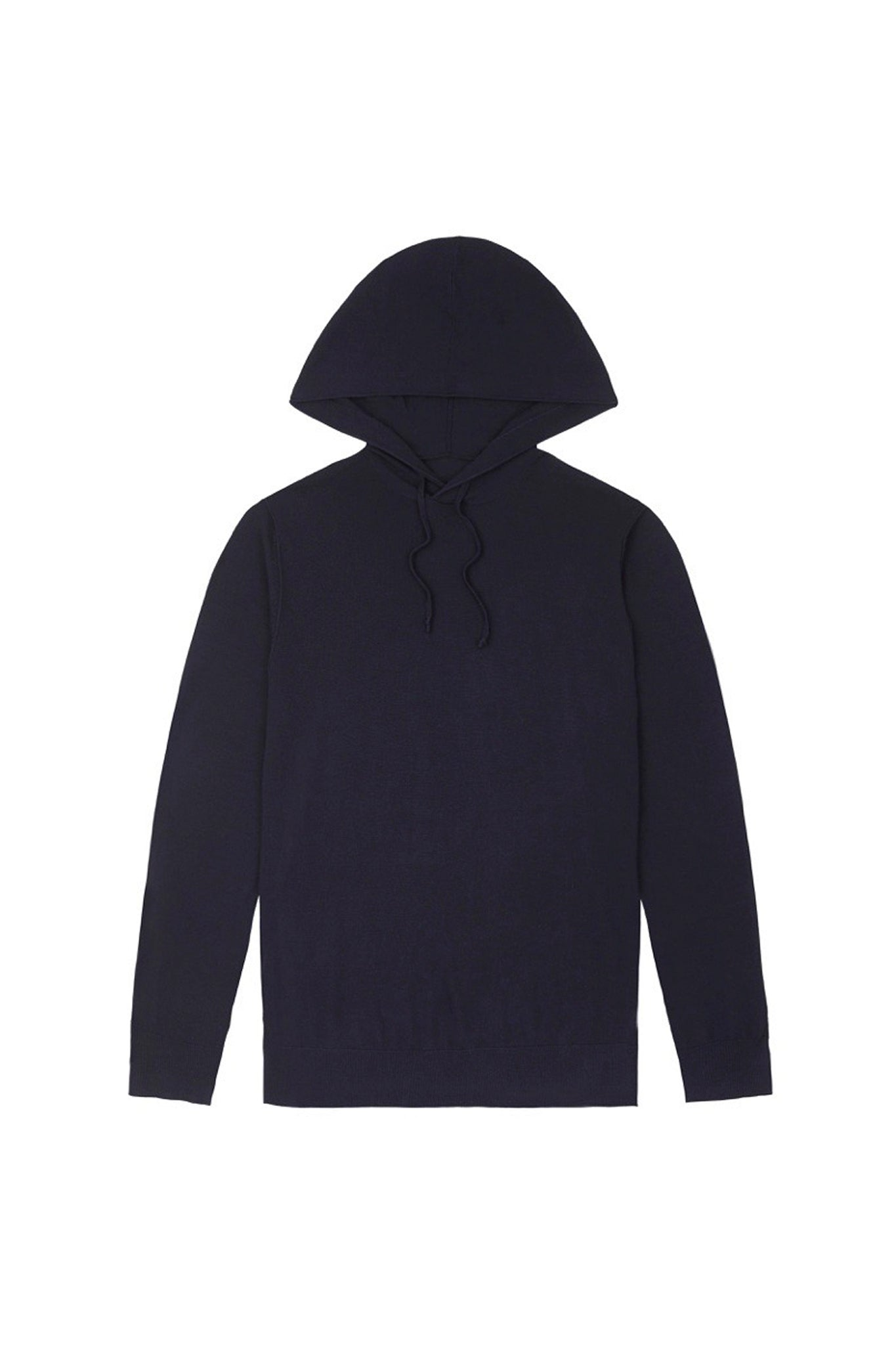 Navy S160 Merino Hooded Jumper
