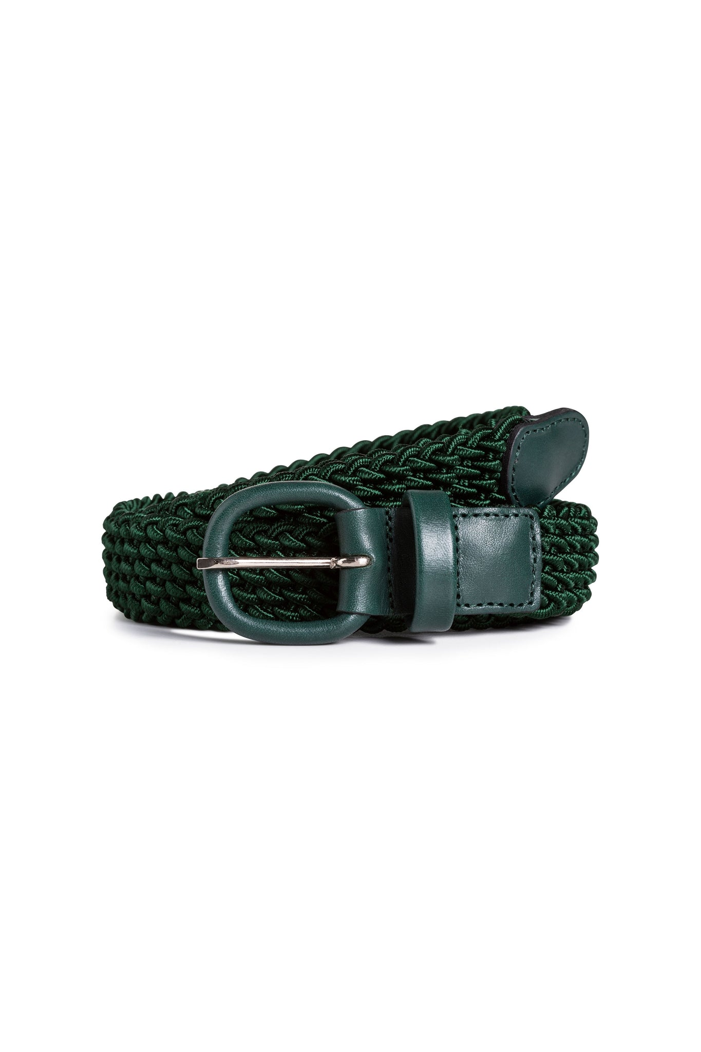 Deep Green Elasticated Belt