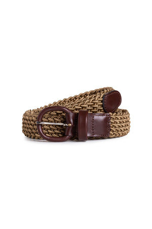 Coffee Elasticated Belt