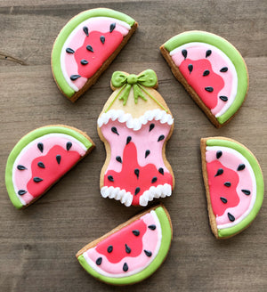 Watermelon Summer Cookies