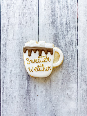 Sweater Weather Mug Cookie