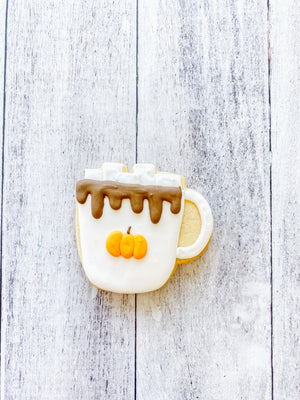 Pumpkin Mug Cookie