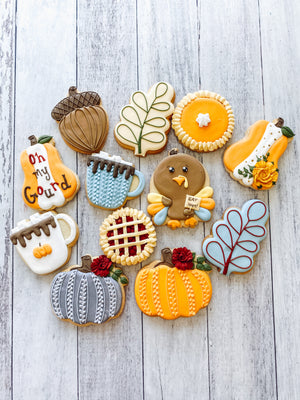 Fall Variety Cookies