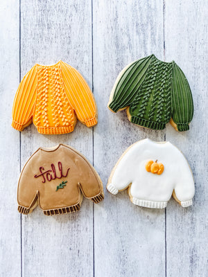 Fall Sweater Pack Cookies