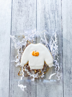 Pumpkin Sweater Cookie