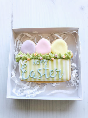 Hoppy Easter Cookie