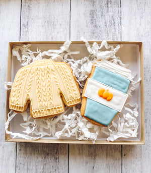 Sweater Weather Cookies