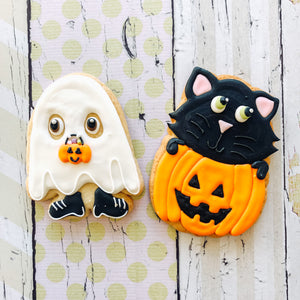 Spooky Friends Cookies