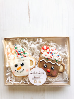 Hot Chocolate Friends Cookies