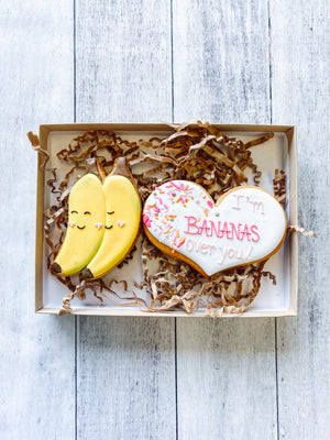 Bananas Over You Cookies