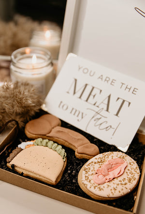 Meat To My Taco Cookie and Card Set