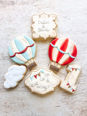 Up Up and Away Cookies