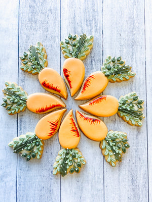 Leafy Carrot Box Cookies
