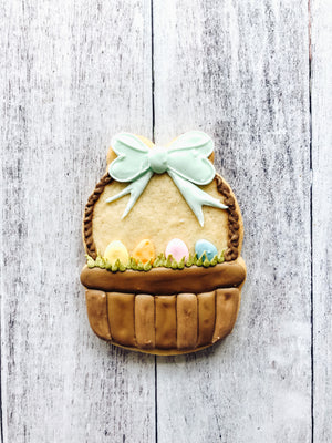 Easter Basket Cookie