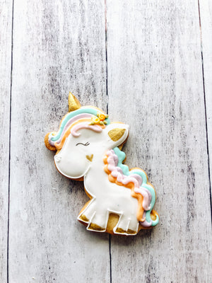 Spring Unicorn Cookie
