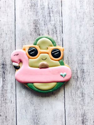 Avocado Floaty Cookie