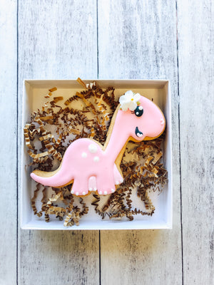Brontosaurus Cookie