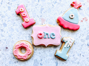 Donut Birthday Cookies