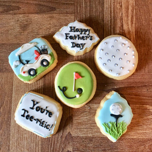 Golf Father's Day Cookies