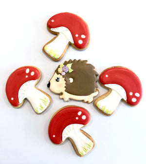 Spring Hedgehog Cookies