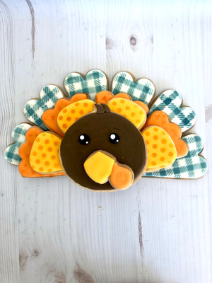 Turkey Platter Cookies