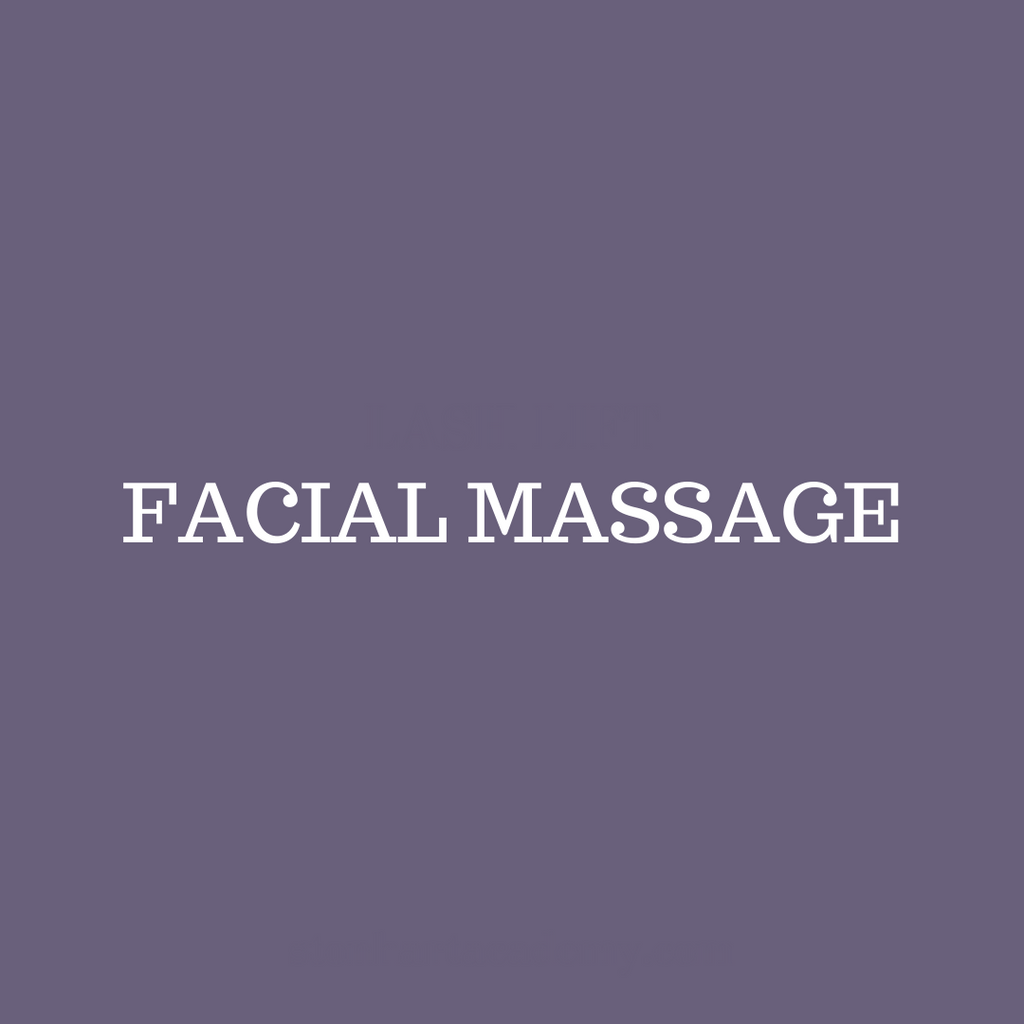 FACIAL MASSAGE CERTIFICATION FOR ESTHETICIANS AND COSMETOLOGISTS