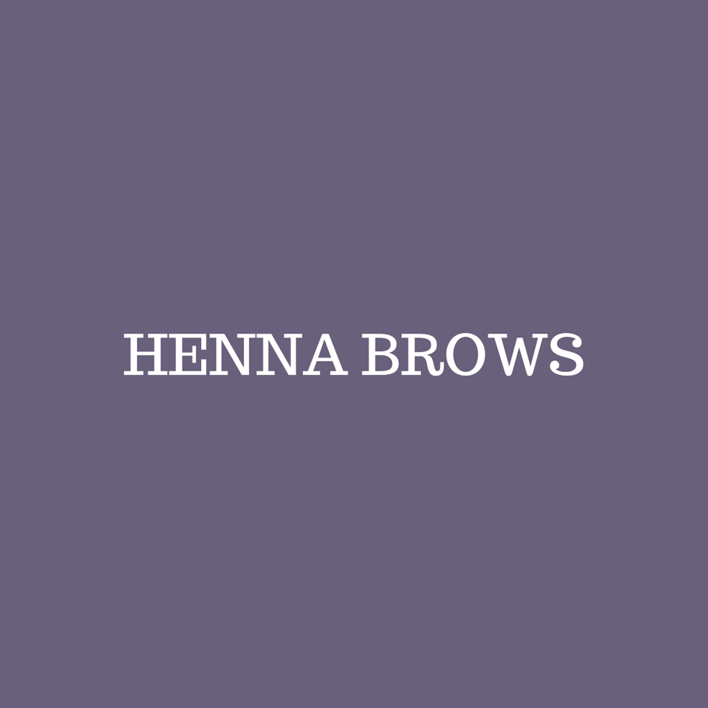 Henna Brows Certification - November 8th