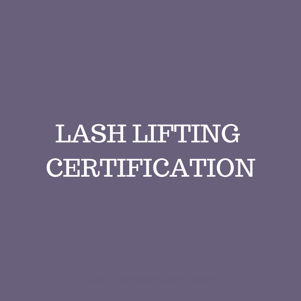 Lash Lifting Certification - November 30th