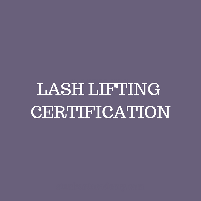 Lash Lifting Certification - March 15th