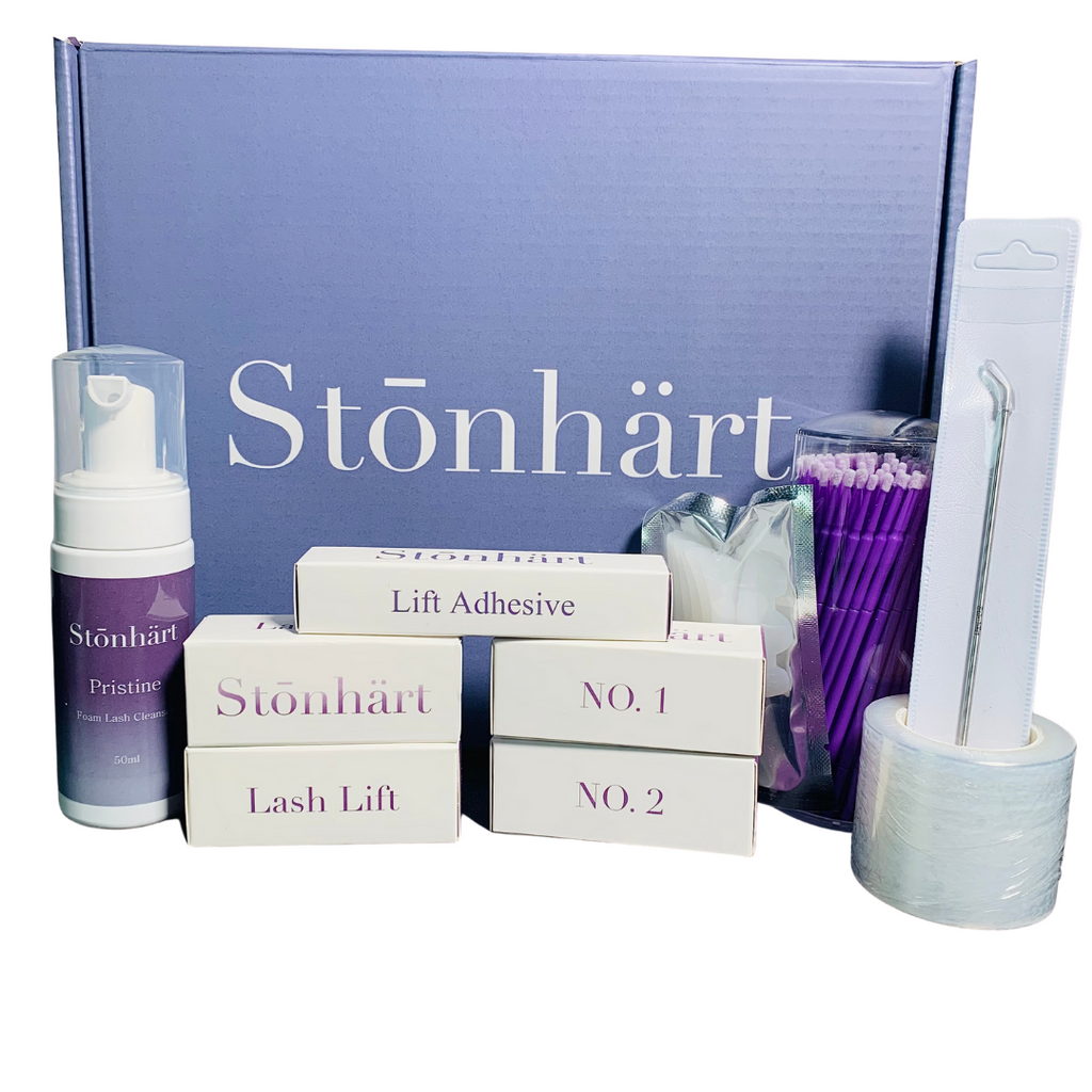 Lash Lift Kit contains everything you need to create beautiful lash lifts on your clients. Perfect for the esthetician/cosmetologist or spa owner.