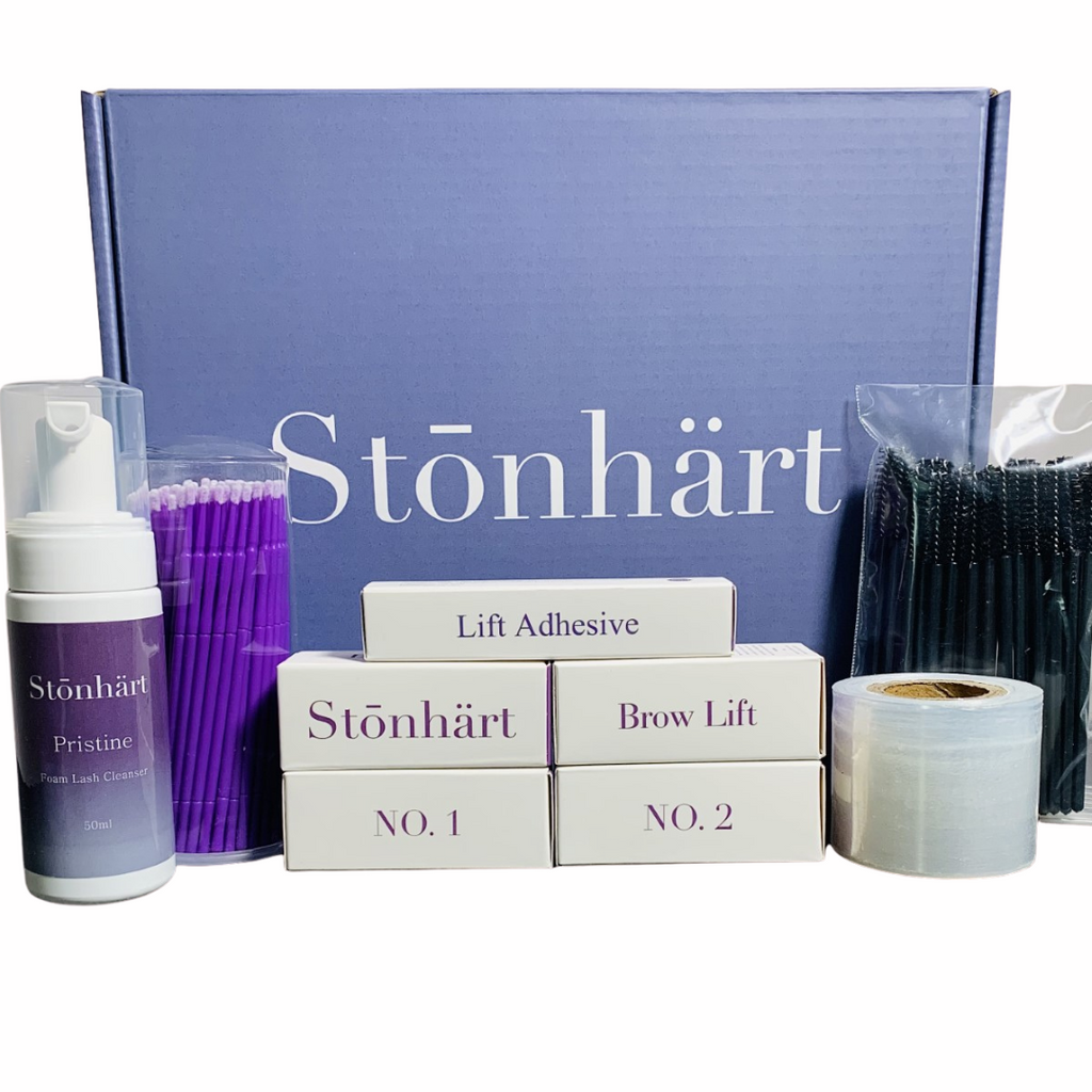 Our Brow Lift and lamination kit contains core products