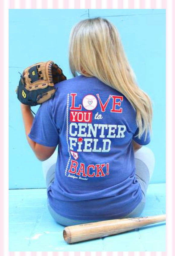 Jadelynn Brooke Centerfield and Back T-Shirt