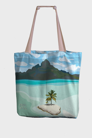 Borsa Mare / Shopper Paul Earl - Il grande Atollo alle Hawaii