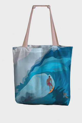 Borsa Mare / Shopper Paul Earl - Surf