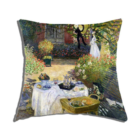 Cuscino Arredo 40x40cm - Luncheon on the grass - Monet