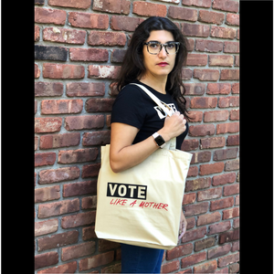 VLAM Organic Cotton Tote in Black or Natural