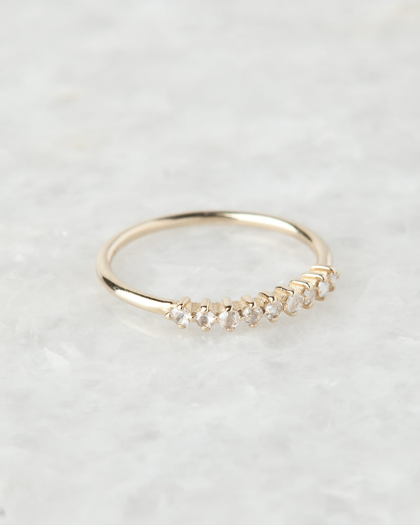 diamond lace ring