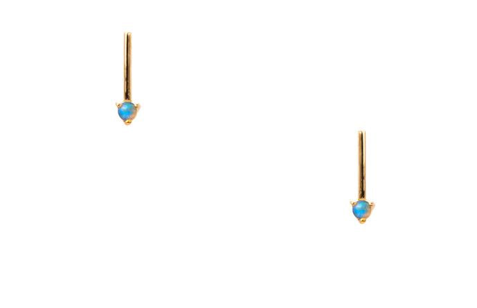 one step bar earrings
