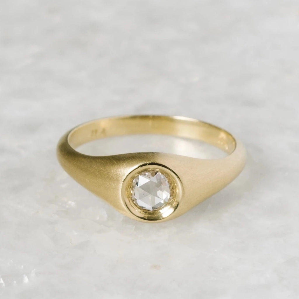 concentric engagement ring