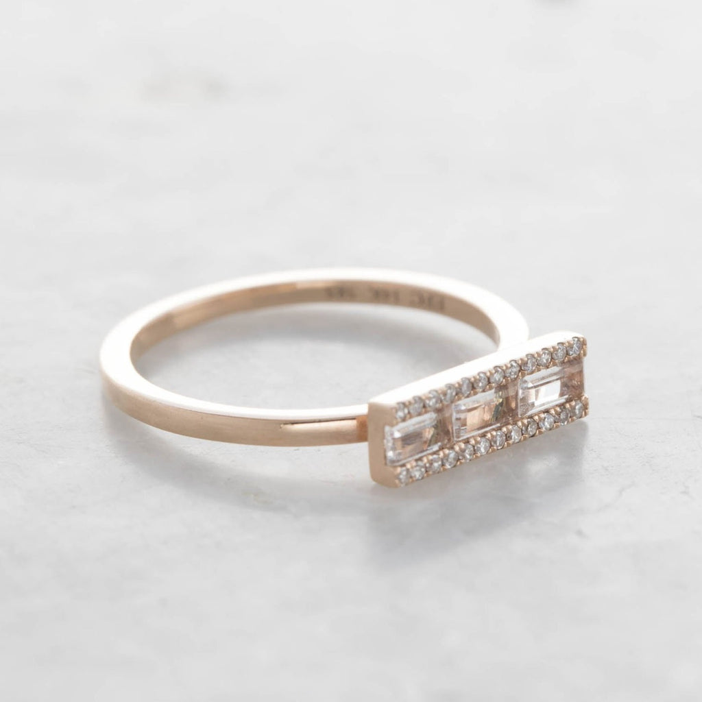 baguette bar stack ring