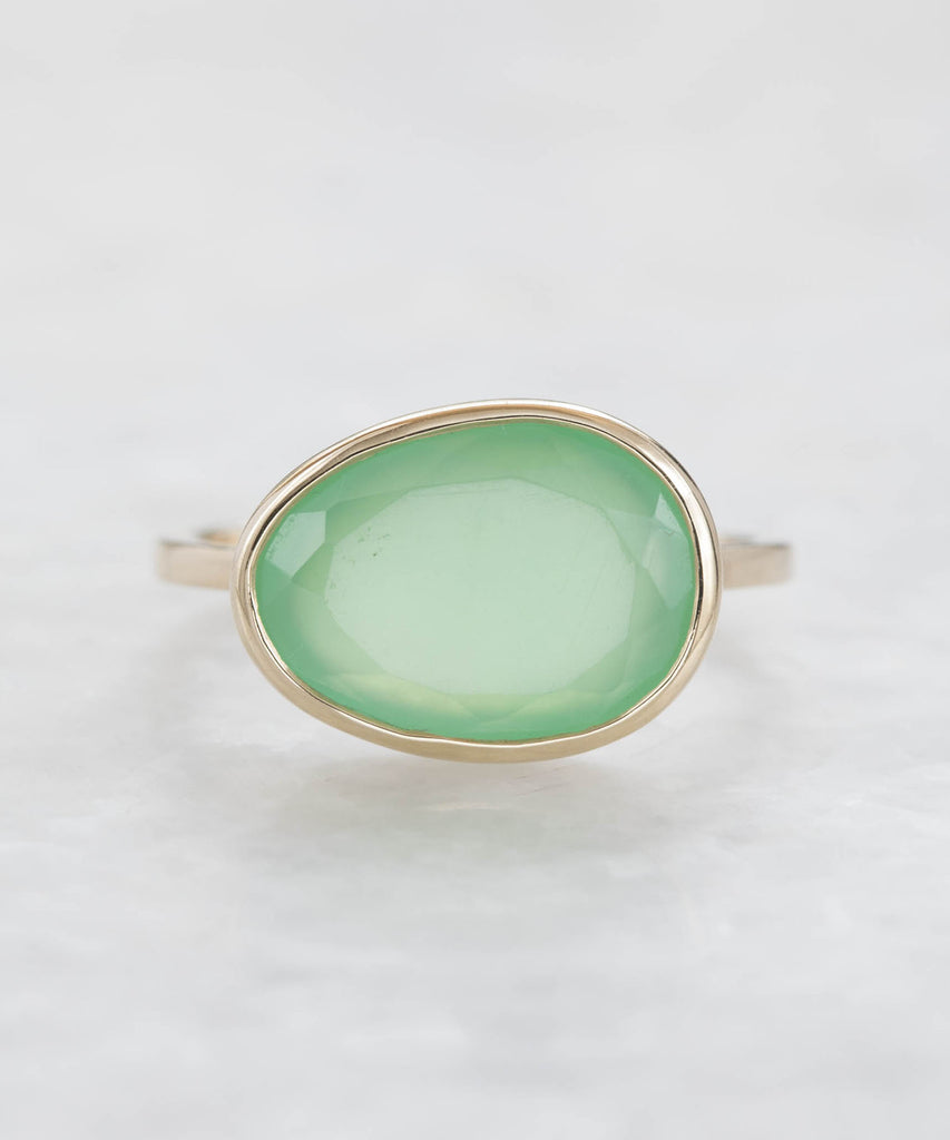 chrysoprase leila ring