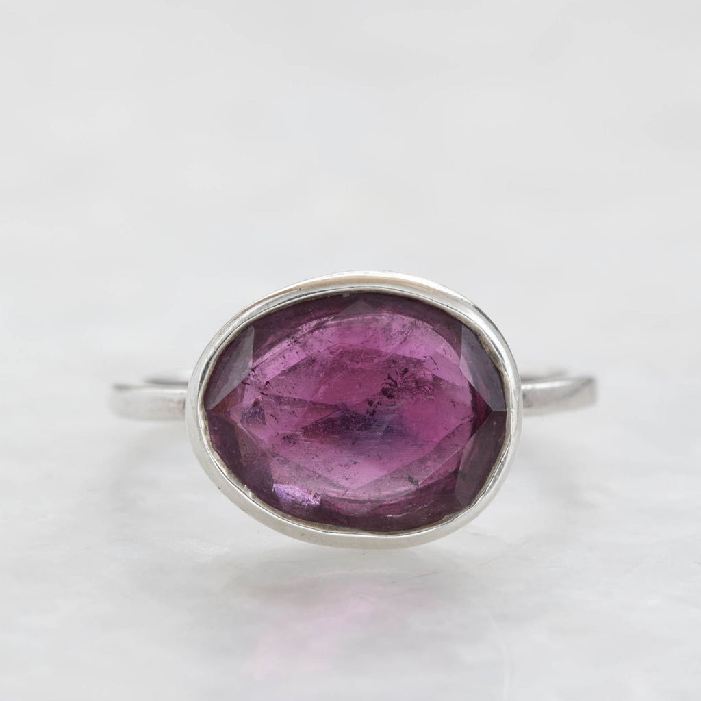 pink tourmaline leila ring
