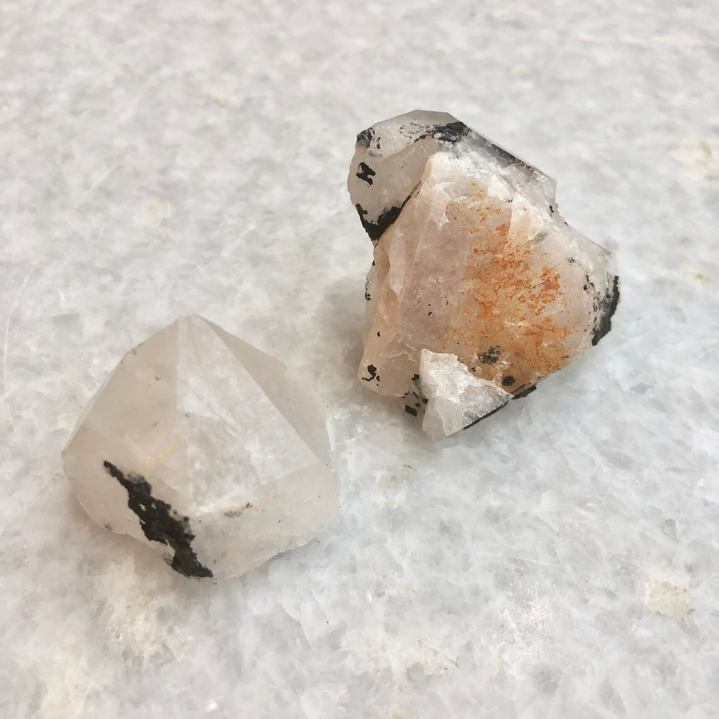 Small Quartz with Hematite