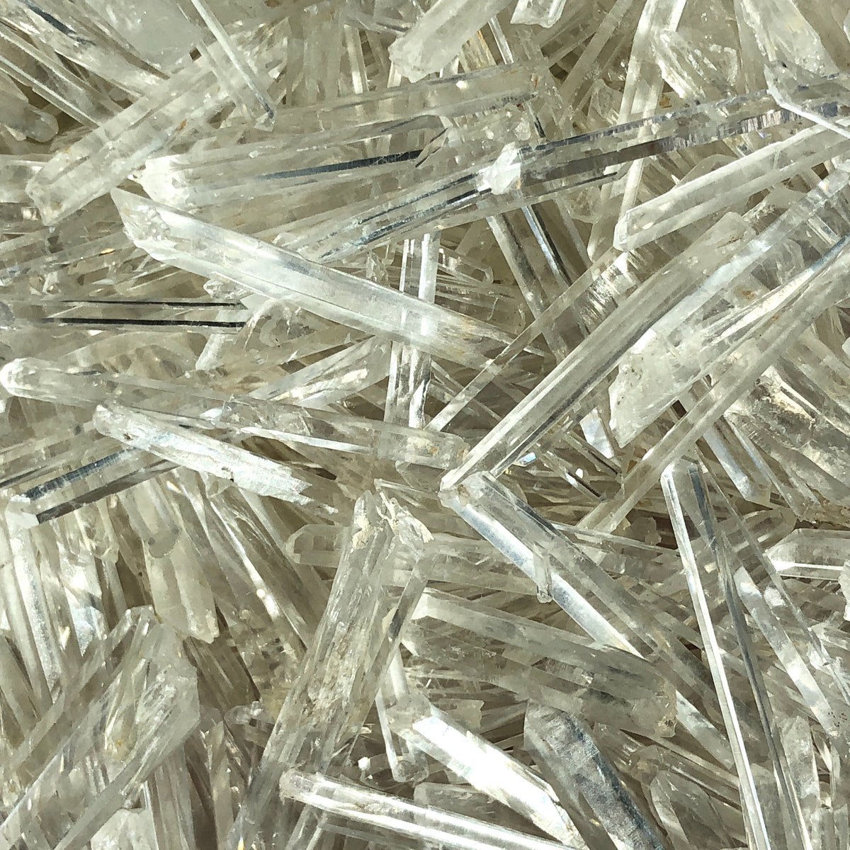 tiny quartz needles