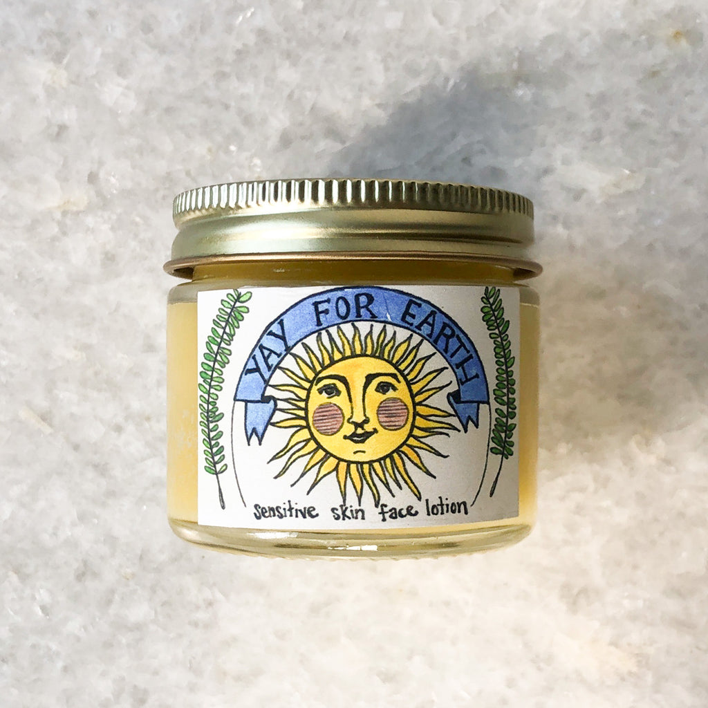 sensitive skin face lotion