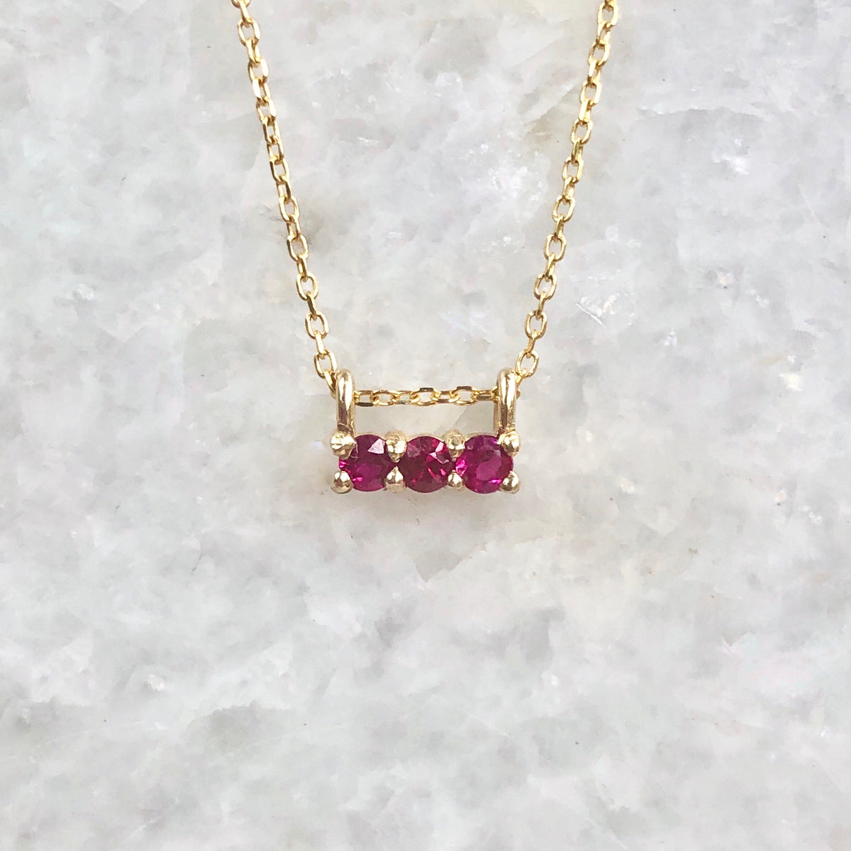 3s ruby necklace