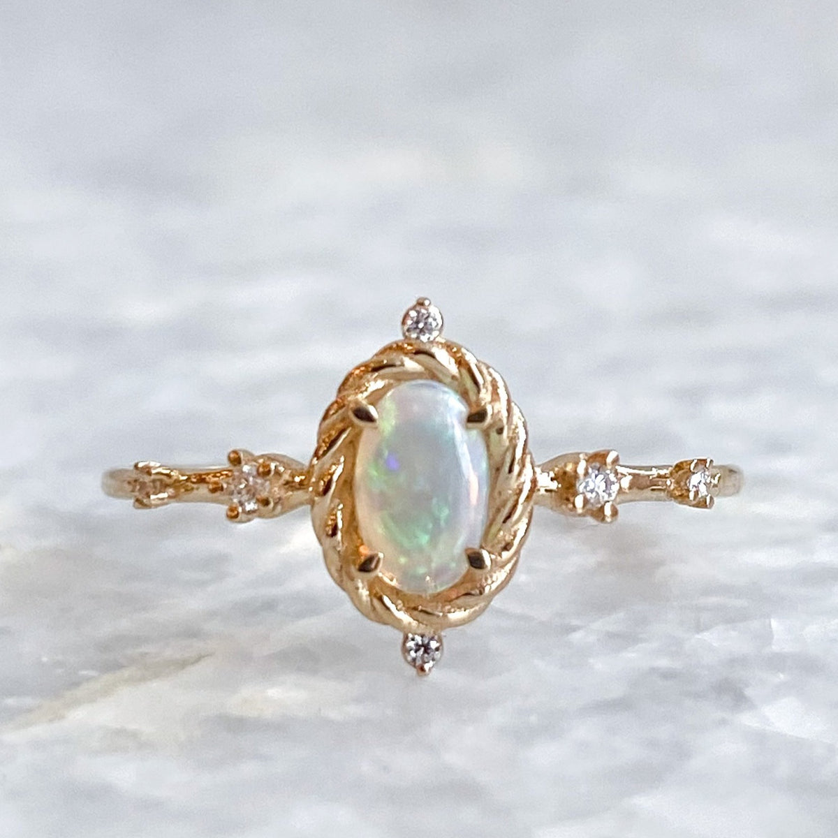 luminary opal ring