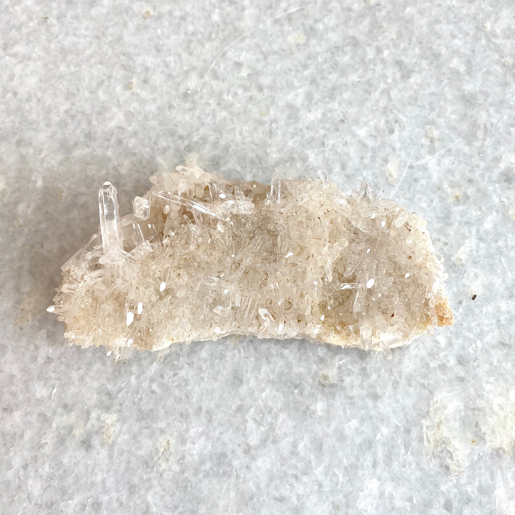 """croque-monsieur"" quartz specimen"