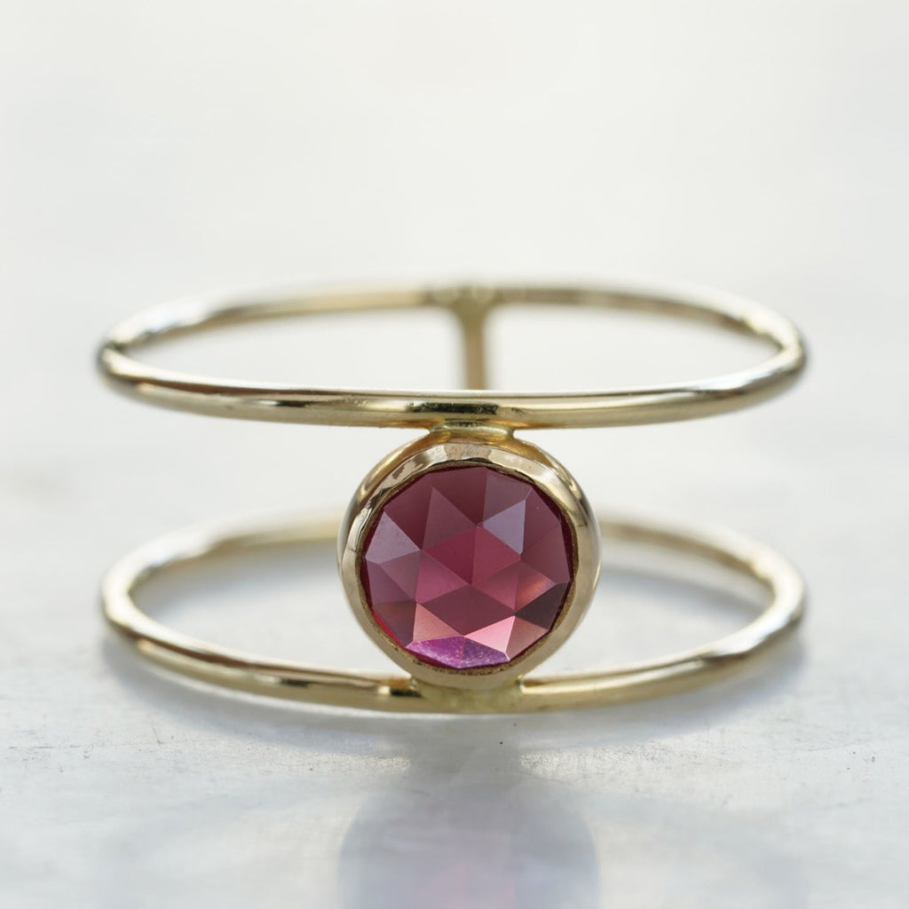 rose cut balance ring