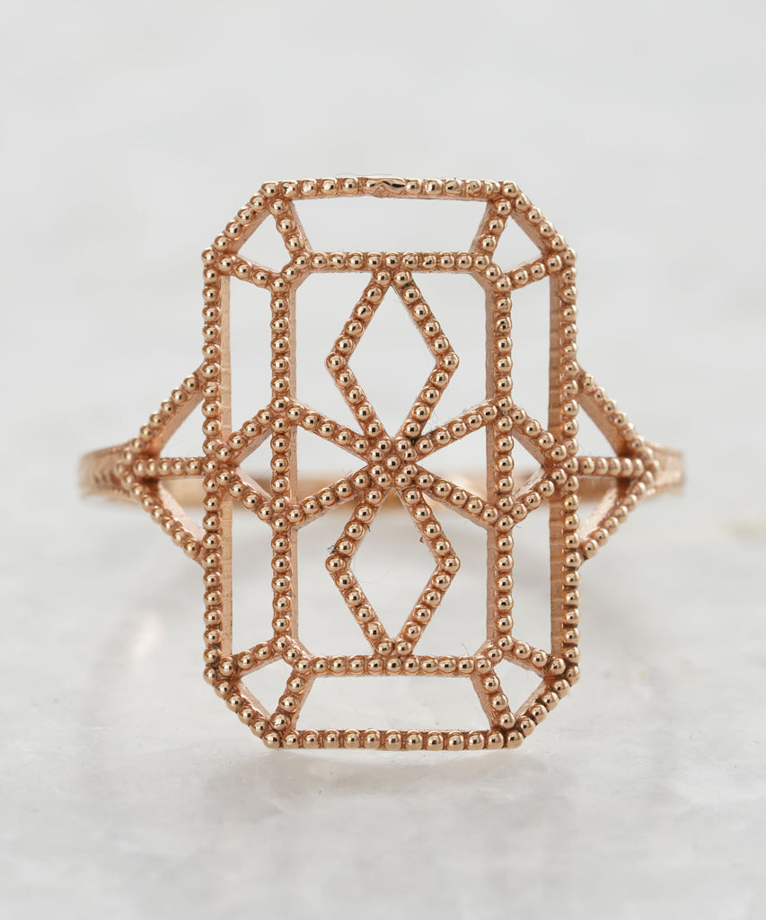 lace deco ring viii